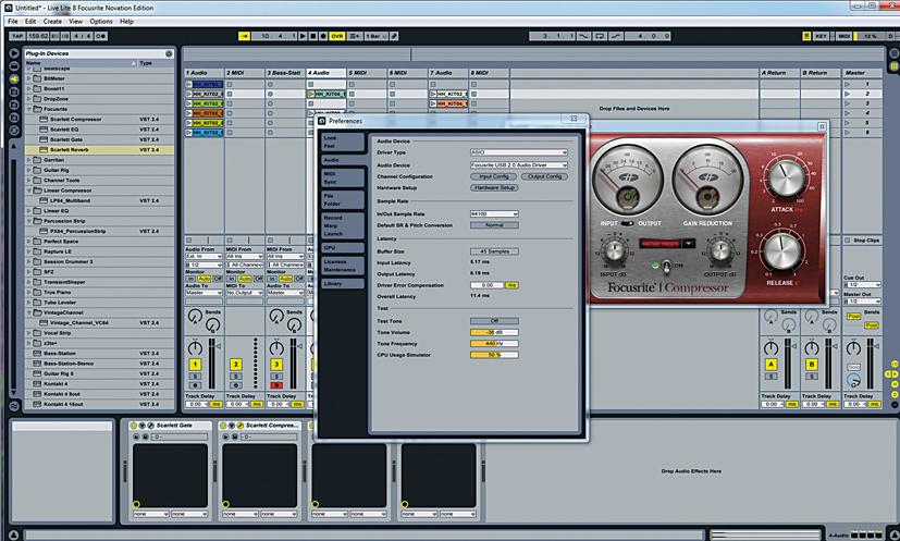 Ableton Live Lite 8