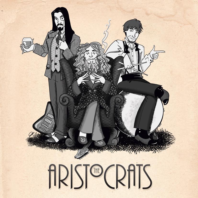 The Aristocrats - přebal alba