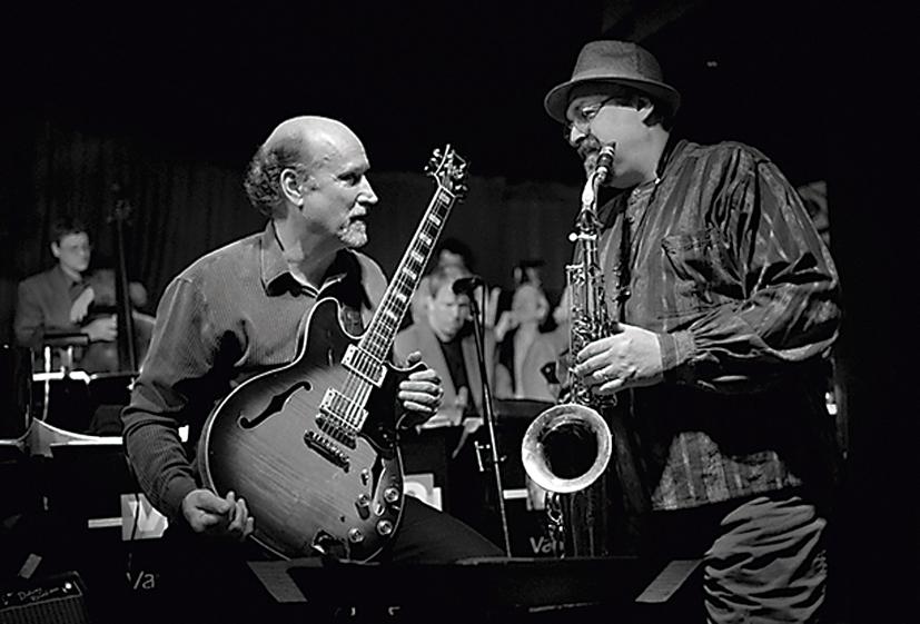 John Scofield a saxofonista Joe Lovano