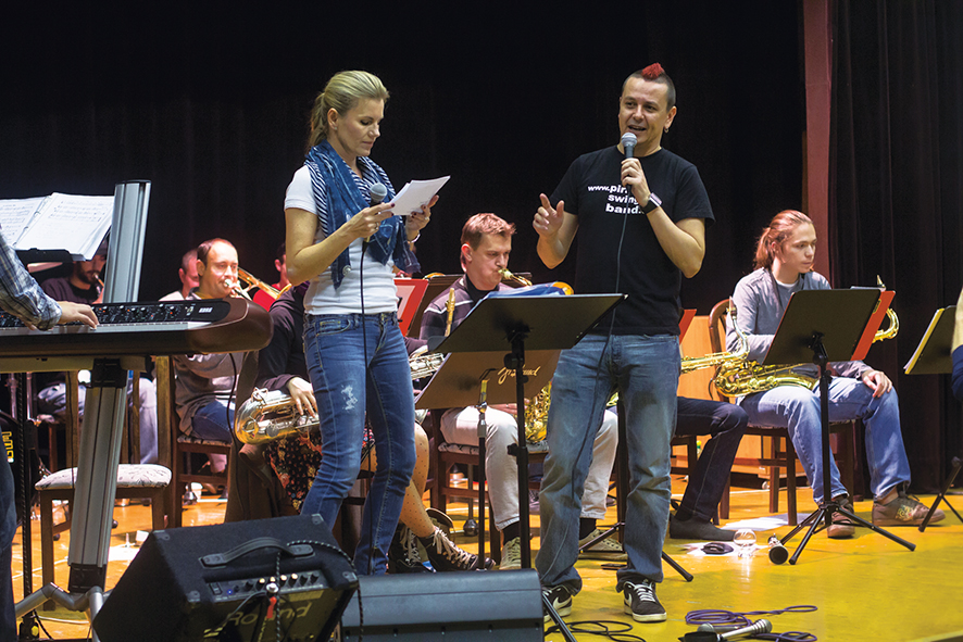 Jiří Ševčík a Leona Machálková