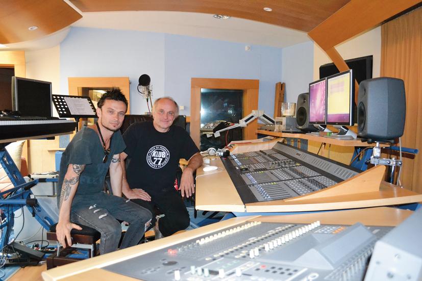 Michael Kocáb &Glenn Proudfoot