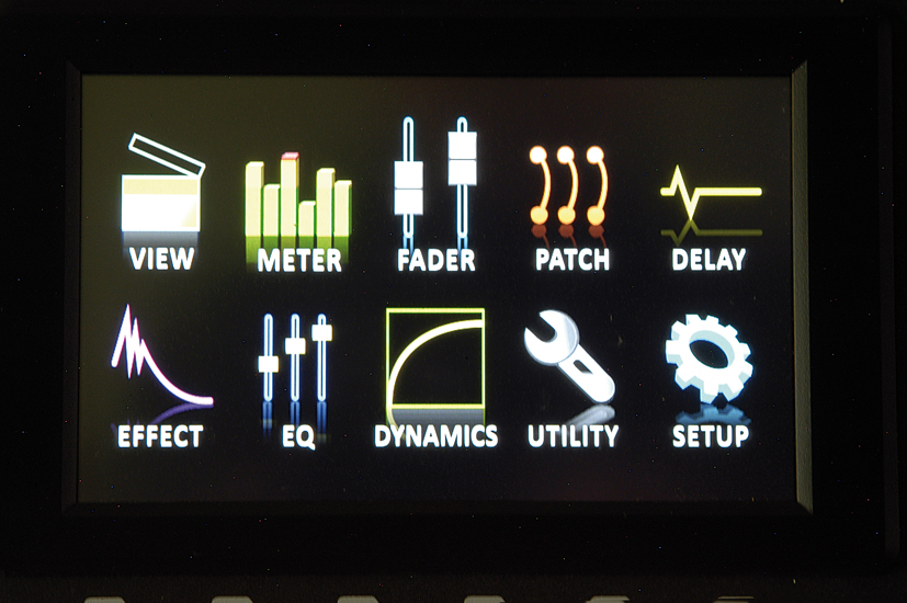 Phonic IS16 - display