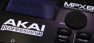 Akai MPX8 detail