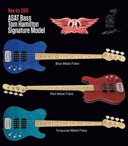 G&L Tom Hamilton Signature Model ASAT Bass