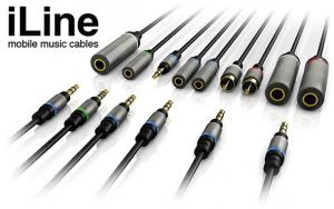 IK Multimedia iLine Mobile Music Cable Kit