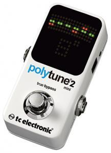 TC Electronic PolyTune 2 Mini  a PolyTune 2 Noir