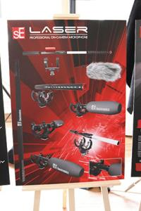 sE Electronics video mikrofony