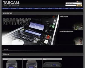 Tascam broadcasting