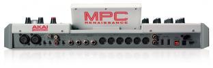 AKAI MPC Renaissance - zadní panel