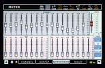 Phonic IS16 - záložka Meter/Fader