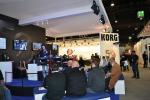 Musikmesse 2013 - expozice firmy Korg
