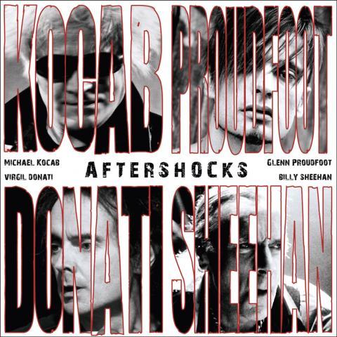 Afterschocks -přebal alba