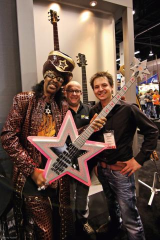 Hans-Peter Wilfer & Bootsy Collins