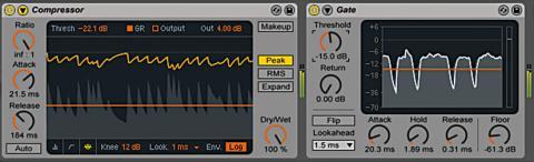Ableton Live 9 – Compressor &Gate