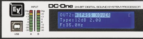 Electro-Voice DC-One -display