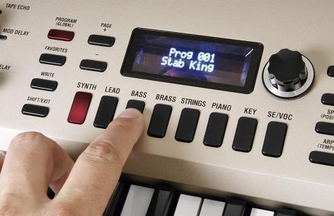 Kork KingKorg – zvukové programy