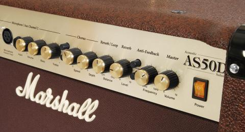 Marshall AS50D -detail