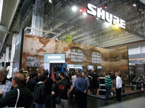 Shure -expozice