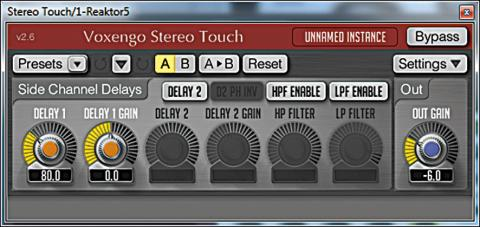 Voxendo Stereo Touch