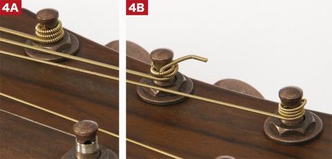 Jak navinout struny 4A & 4B