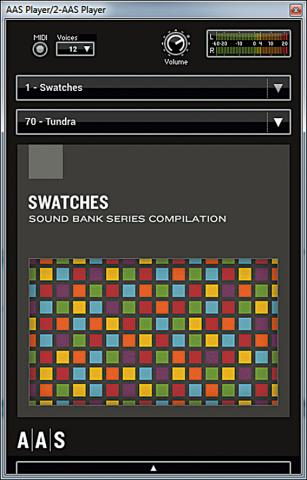 Applied Acoustics System Swatches