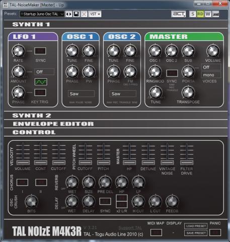 Togu Audio TALNOIzE M4K3R