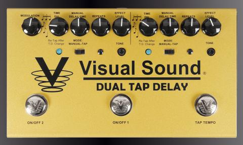 Visual Sound Dual TapDelay