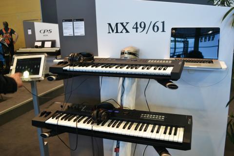 Musikmesse 2013 -Yamaha MX49/61
